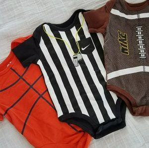 Sports Themed Onsies